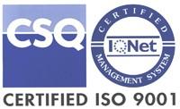 CSQ certificato iso 9001