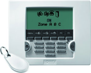 LCD Keypad PRO blanc detoure